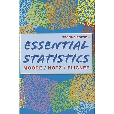 Essentials of Statistics, Crunch It/EESEE Access Card & StatsPortal Access Card Used Book (9781464119477)