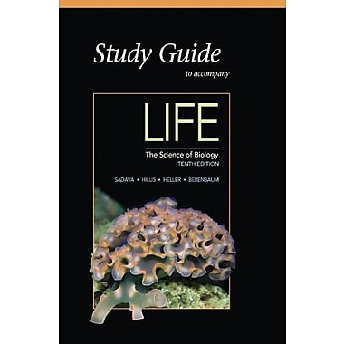 Study Guide for Life: The Science of Biology, Used Book (9781464123658)