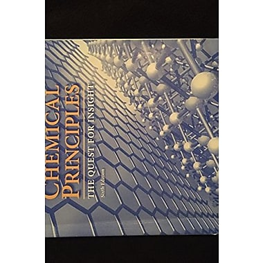 Study Guide for Chemical Principles, Used Book (9781464124358)
