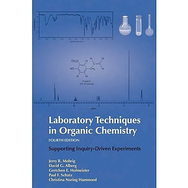 Laboratory Techniques in Organic Chemistry, Used Book (9781464134227)