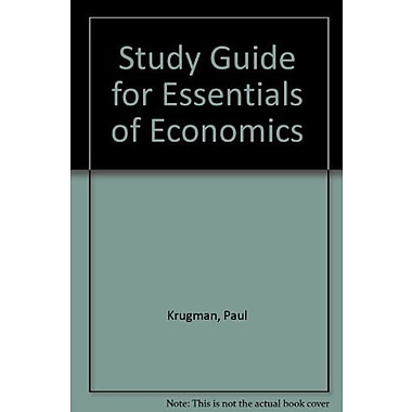 Study Guide for Essentials of Economics, Used Book (9781464143380)