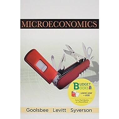 Microeconomics Used Book (9781464149894)