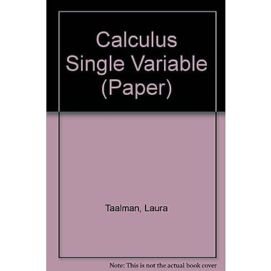 Calculus Single Variable, Used Book (9781464151071)