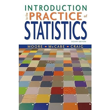 Introduction to the Practice of Statistics: w/CrunchIt/EESEE Access Card Used Book (9781464158933)