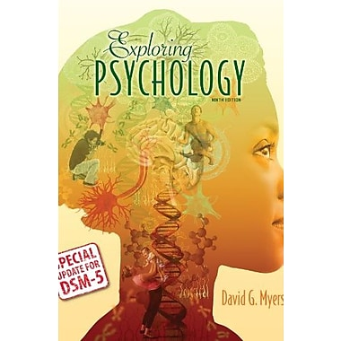 Exploring Psychology with Updates on DSM-5, Used Book (9781464163364)