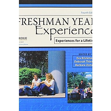 Freshman Year Experience: Experiences for a Lifetime, Used Book (9781465201881)