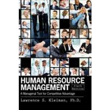 Human Resource Management: A Managerial Tool for Competitive Advantage, Used Book (9781465210142)
