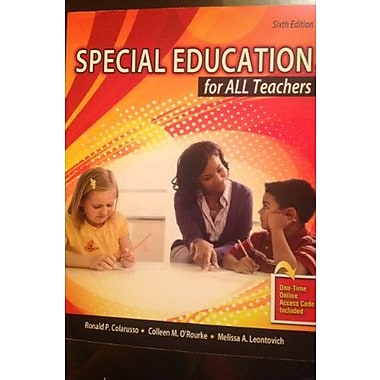 Special Education for All Teachers, Used Book (9781465215291)