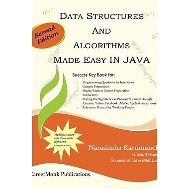 Data Structures and Algorithms Made Easy in Java: Data Structure and Algorithmic Puzzles Used Book (9781466304161)