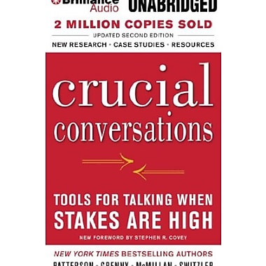 Crucial Conversations: Tools for Talking When Stakes Are High, Second Edition Used Book (9781469266770)