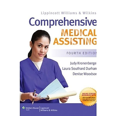 LWW Comprehensive Medical Assisting Text & Study Guide Package, Used Book (9781469805207)