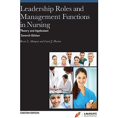 Leadership Roles and Management Functions in NursingInc. custom ed), Used Book (9781469823959)