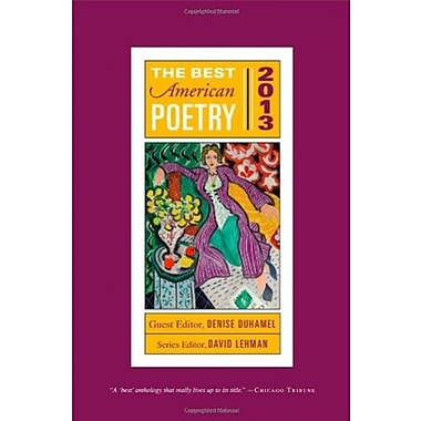 The Best American Poetry 2013, Used Book (9781476708133)