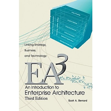 An Introduction To Enterprise Architecture: Third Edition, Used Book (9781477258002)