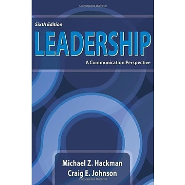 Leadership: A Communication Perspective, Sixth Edition, Used Book (9781478602590)