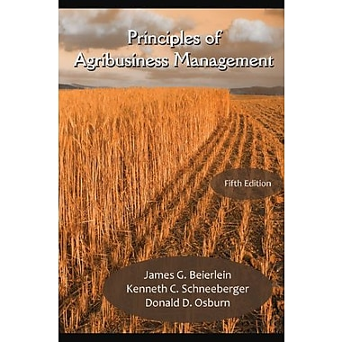 Principles of Agribusiness Management, Fifth Edition, Used Book (9781478605669)