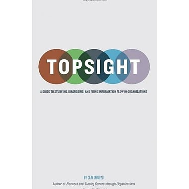 Topsight: A Guide to Studying, Diagnosing and Fixing Information Flow in Organizations Used Book (9781481960069)
