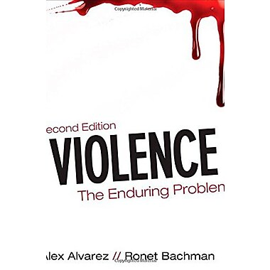 Violence: The Enduring Problem Used Book (9781483300306)