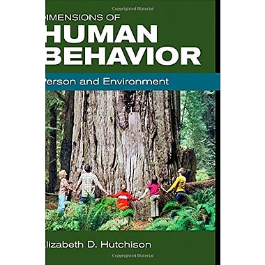 Dimensions of Human Behavior: Person and Environment, Used Book (9781483303918)