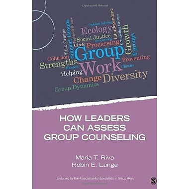 How Leaders Can Assess Group Counseling Used Book (9781483332253)