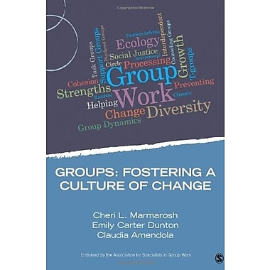 Groups: Fostering a Culture of Change Used Book (9781483332284)