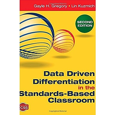 Data Driven Differentiation in the Standards-Based Classroom, Used Book (9781483332499)