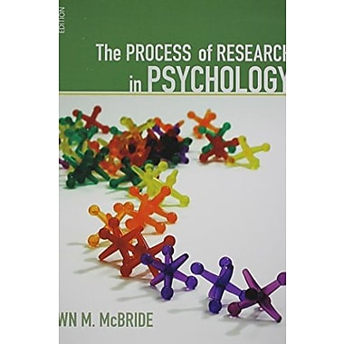 Lab Manual for Psychological Research 3e + Schwartz, New Book