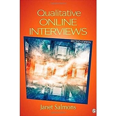 Qualitative Online Interviews: Strategies, Design and Skills, Used Book (9781483332673)