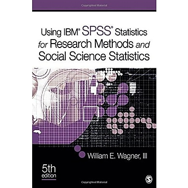 Using IBM SPSS Statistics for Research Methods and Social Science Statistics Used Book (9781483351285)