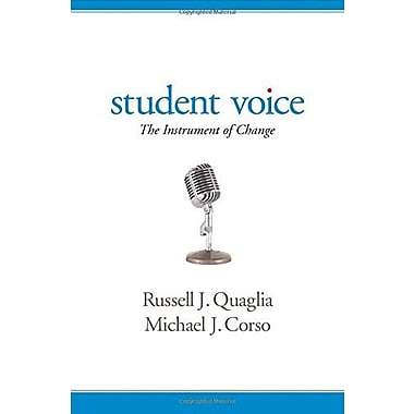 Student Voice: The Instrument of Change, Used Book (9781483358130)