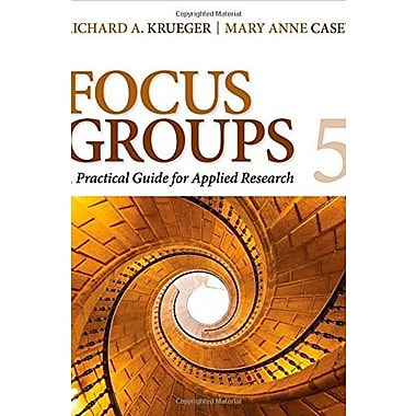 Focus Groups: A Practical Guide for Applied Research Used Book (9781483365244)