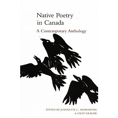 Native Poetry in Canada: A Contemporary Anthology, Used Book (9781551112008)