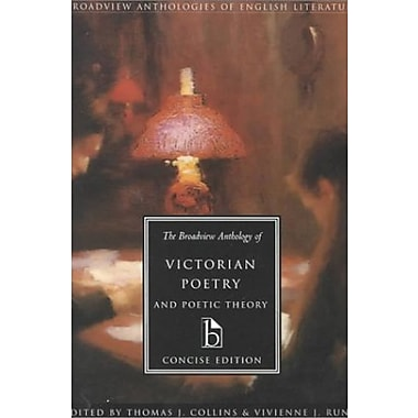 The Broadview Anthology of Victorian Poetry and Poetic Theory, concise edition, Used Book (9781551113661)