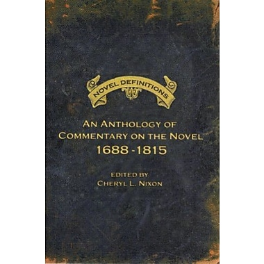 Novel Definitions: An Anthology of Commentary on the Novel, 1688-1815, Used Book (9781551116464)