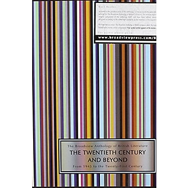 The Broadview Anthology of British Literature, Used Book