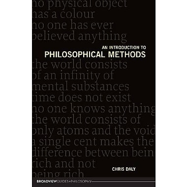 An Introduction to Philosophical Methods, Used Book (9781551119342)
