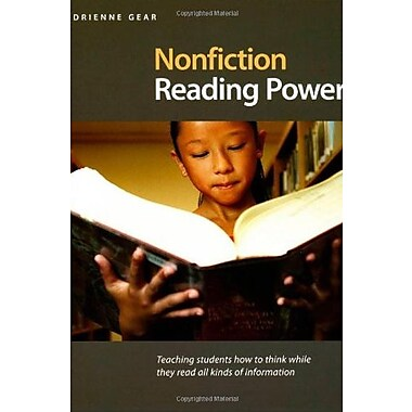 Nonfiction Reading Power: Teaching Students How to Think While THey Read all Kinds of Information, Used Book (9781551382296)