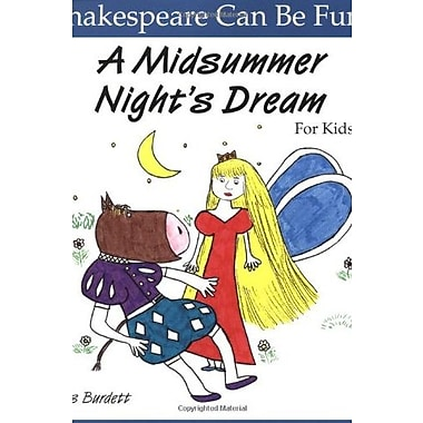 A Midsummer Night's Dream for Kids Used Book (9781552091241)