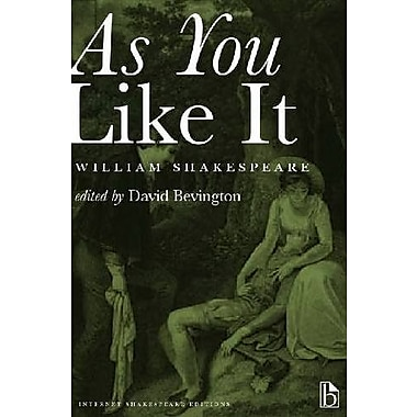 As You Like It: A Broadview Internet Shakespeare Edition, Used Book (9781554810529)