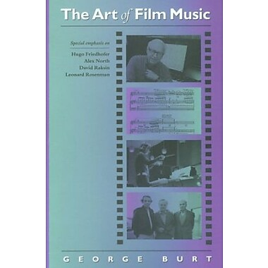 The Art of Film Music, Used Book (9781555532703)