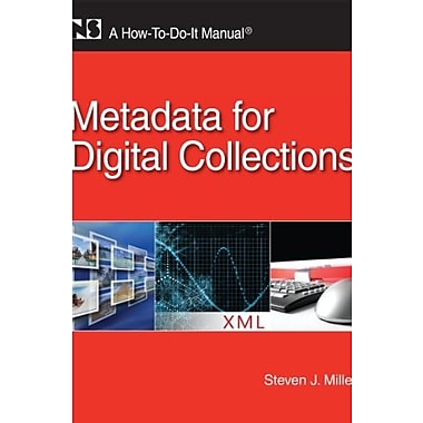 Metadata for Digital Collections, Used Book (9781555707460)