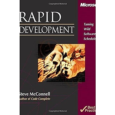 Rapid Development: Taming Wild Software Schedules Used Book (9781556159008)
