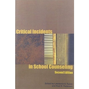 Critical Incidents in School Counseling, Used Book (9781556202094)