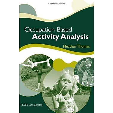 Occupation-Based Activity AnalysisOccupation-Based Activity Analysis), Used Book (9781556429460)