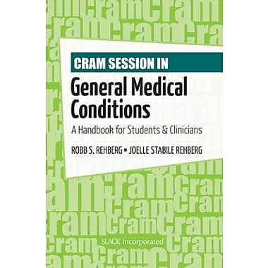 Cram Session in General Medical Conditions: A Handbook for Students and Clinicians, Used Book, (9781556429484)