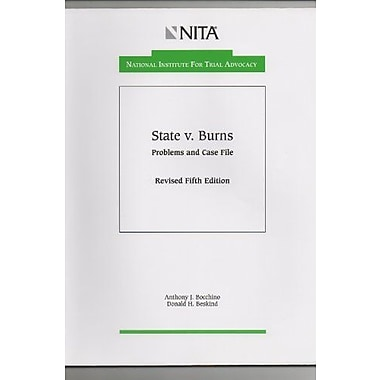 State vs. Burns: Problems and case file, Used Book (9781556812972)