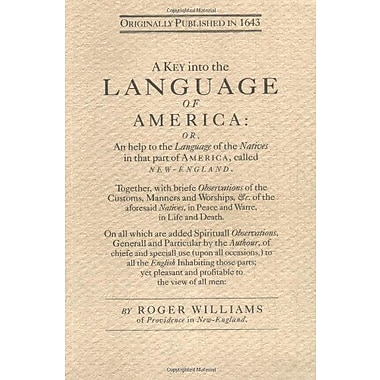 Key into the Language of America, Used Book (9781557094643)