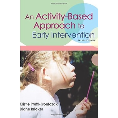 An Activity-Based Approach to Early Intervention, Third Edition Used Book (9781557667366)