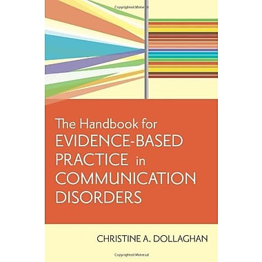 The Handbook for Evidence-Based Practice in Communication Disorders Used Book (9781557668707)