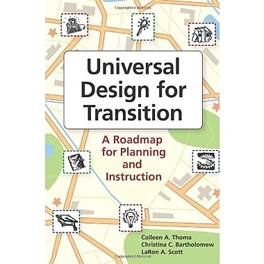 Universal Design for Transition: A Roadmap for Planning and Instruction Used Book (9781557669100)